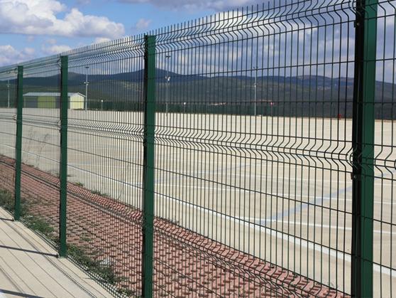 Panel çit profil kapak